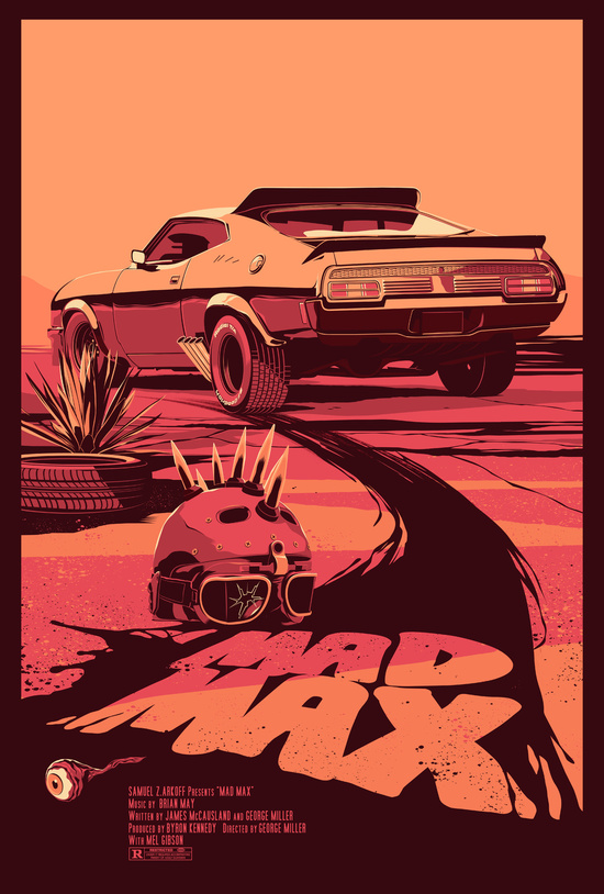 Mad Max poster by Mike Wrobel