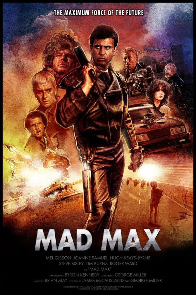 Mad Max poster by Paul Shipper