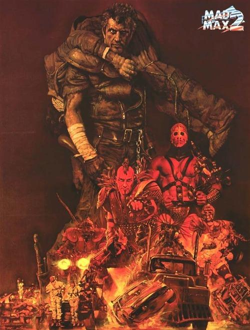 The Road Warrior poster By Noriyoshi Ohrai