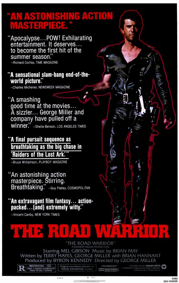 The Road Warrior psoter