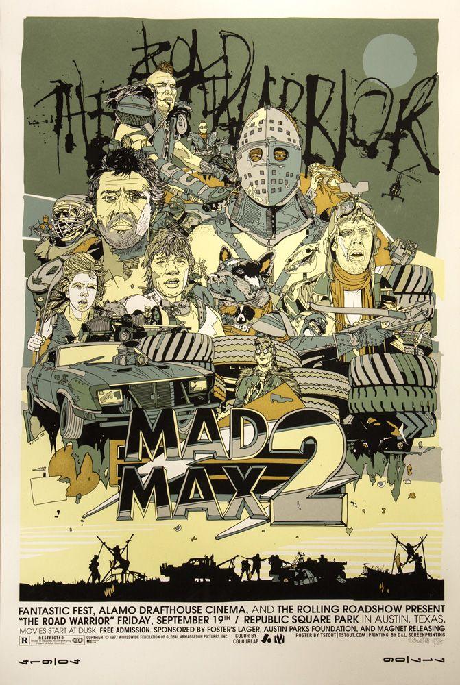 The Road Warrior alternative poster