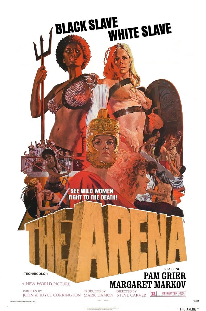 The Arena, Pam Grier, Posters