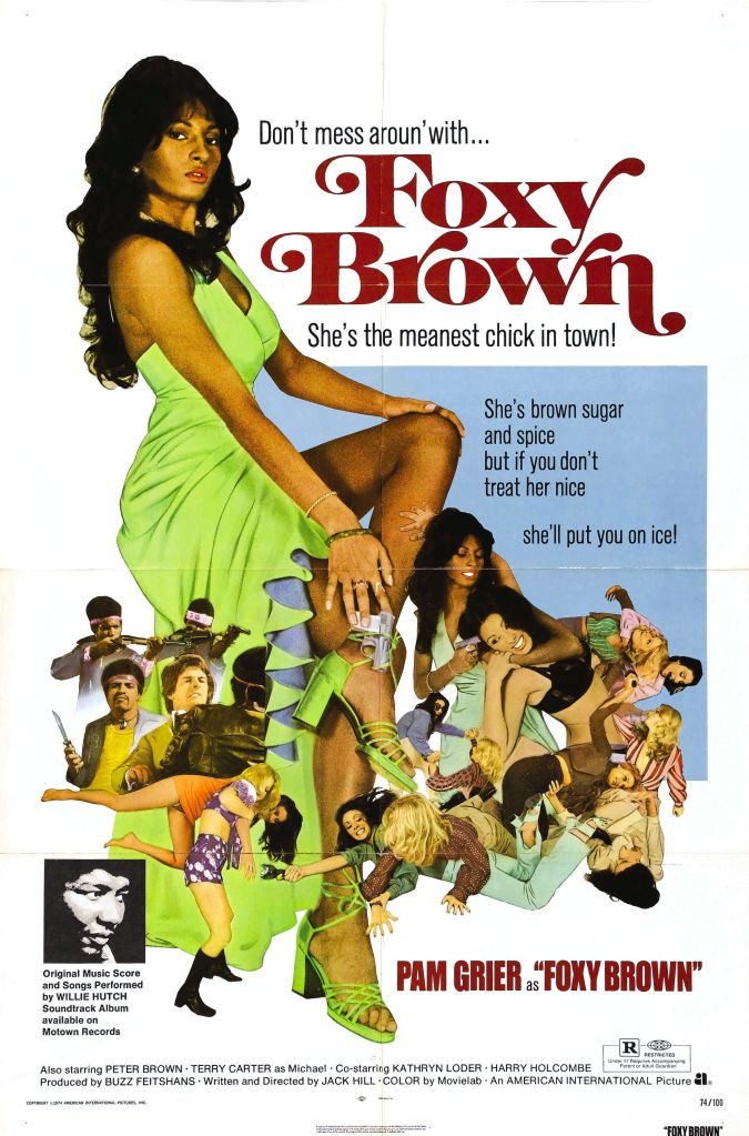 Foxy Brown, Pam Grier, Posters