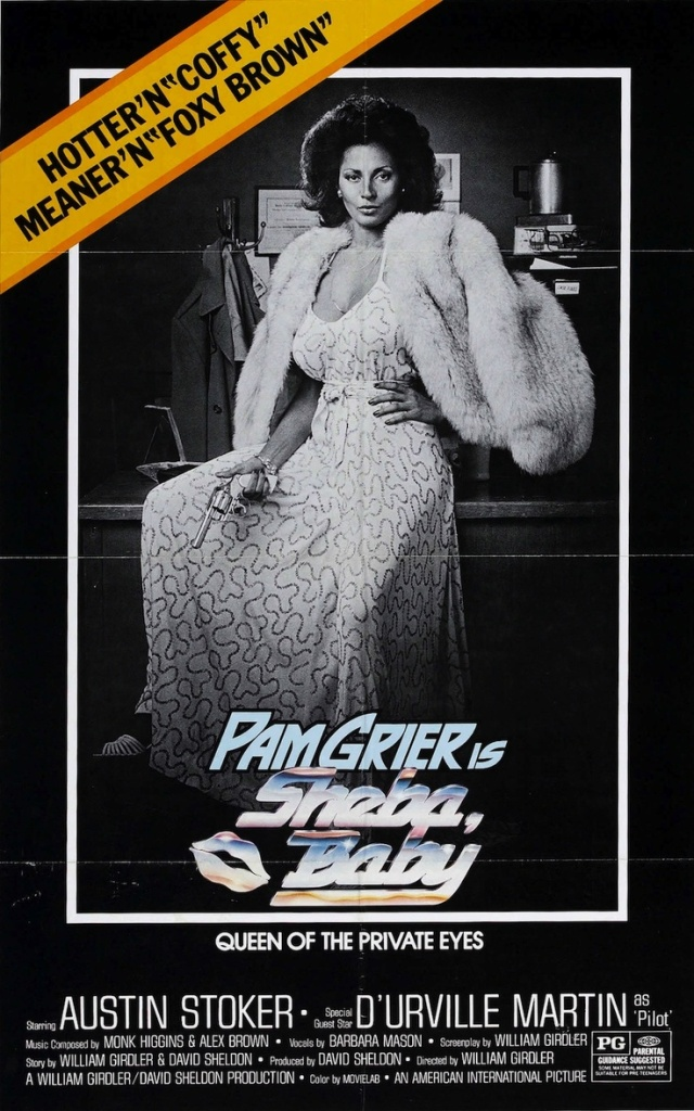 Sheba, Baby, Pam Grier, Posters
