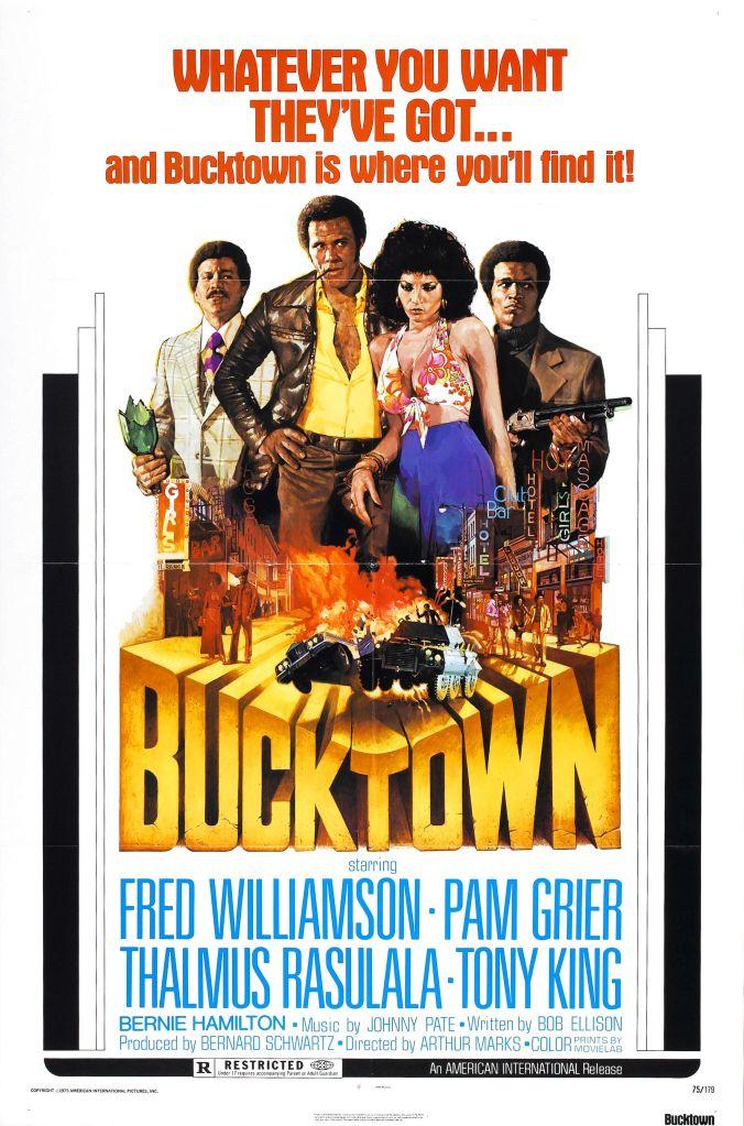 Bucktown, Pam Grier, Posters