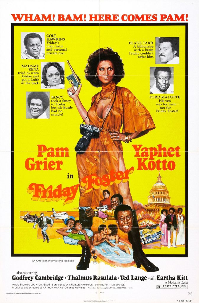 Friday Foster, Pam Grier, Posters