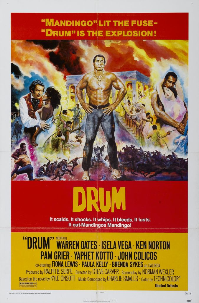 Drum Pam Grier, Posters