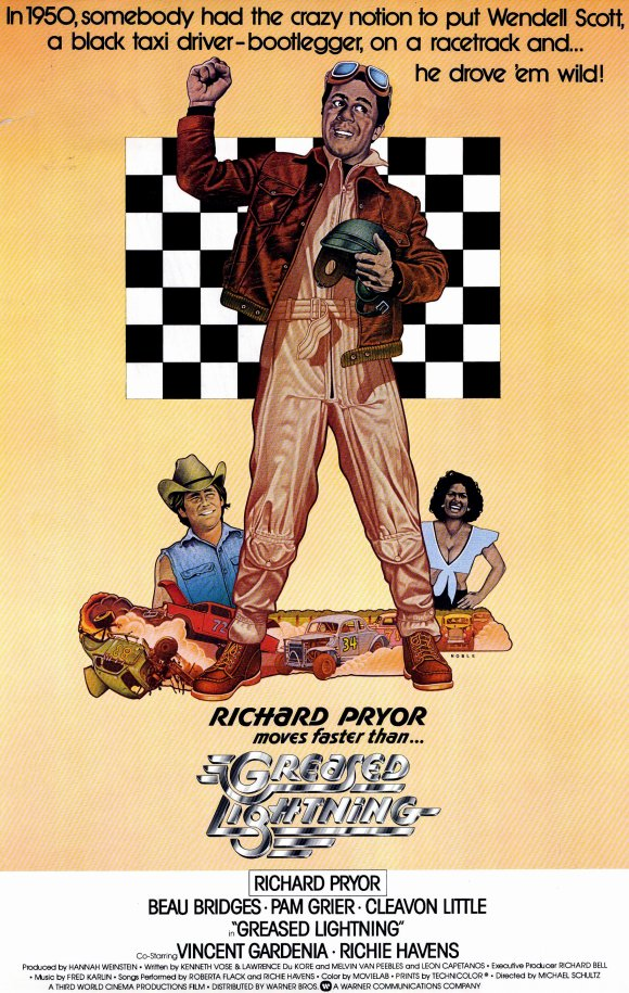 Greased Lightning, Pam Grier, Posters