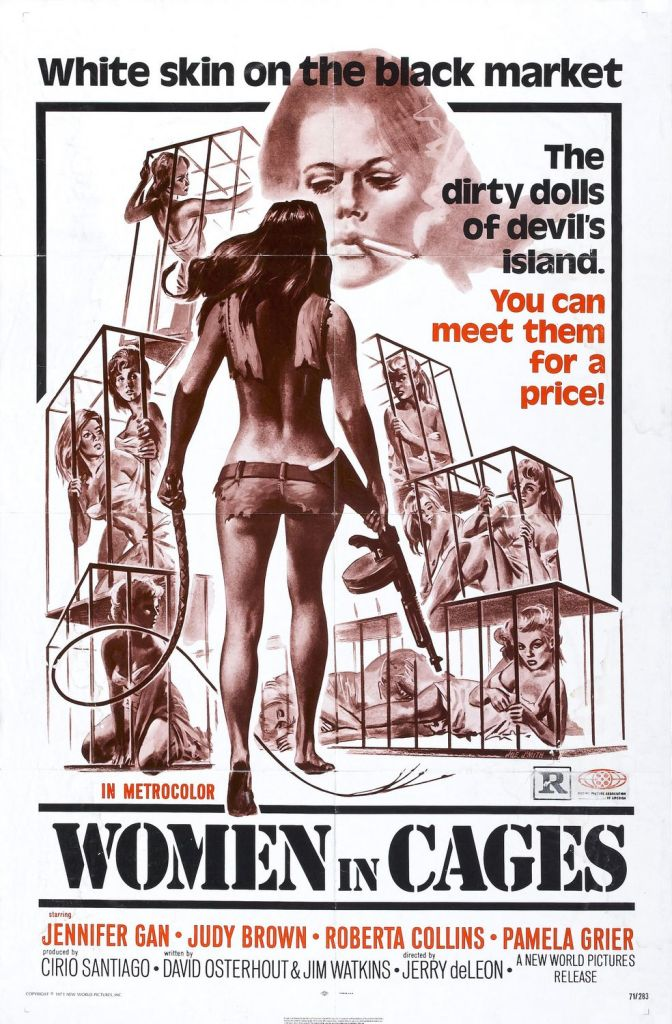 Women in Cages, Pam Grier, Posters