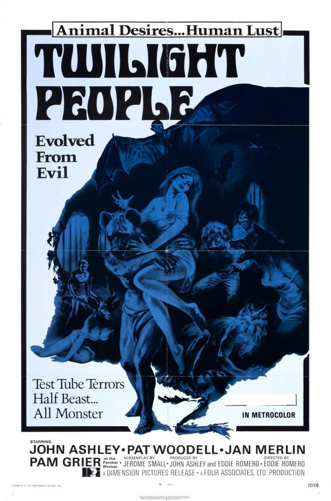 The Twilight People, Pam Grier, Posters