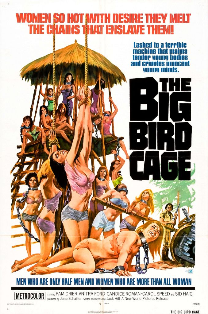 The Big Bird Cage, Pam Grier, Posters
