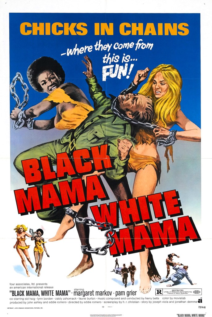 Black Mama White Mama, Pam Grier, Posters