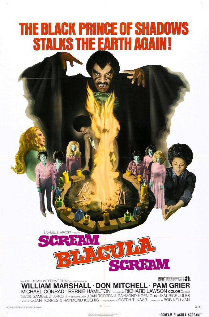 Scream Blacula Scream , Pam Grier, Posters