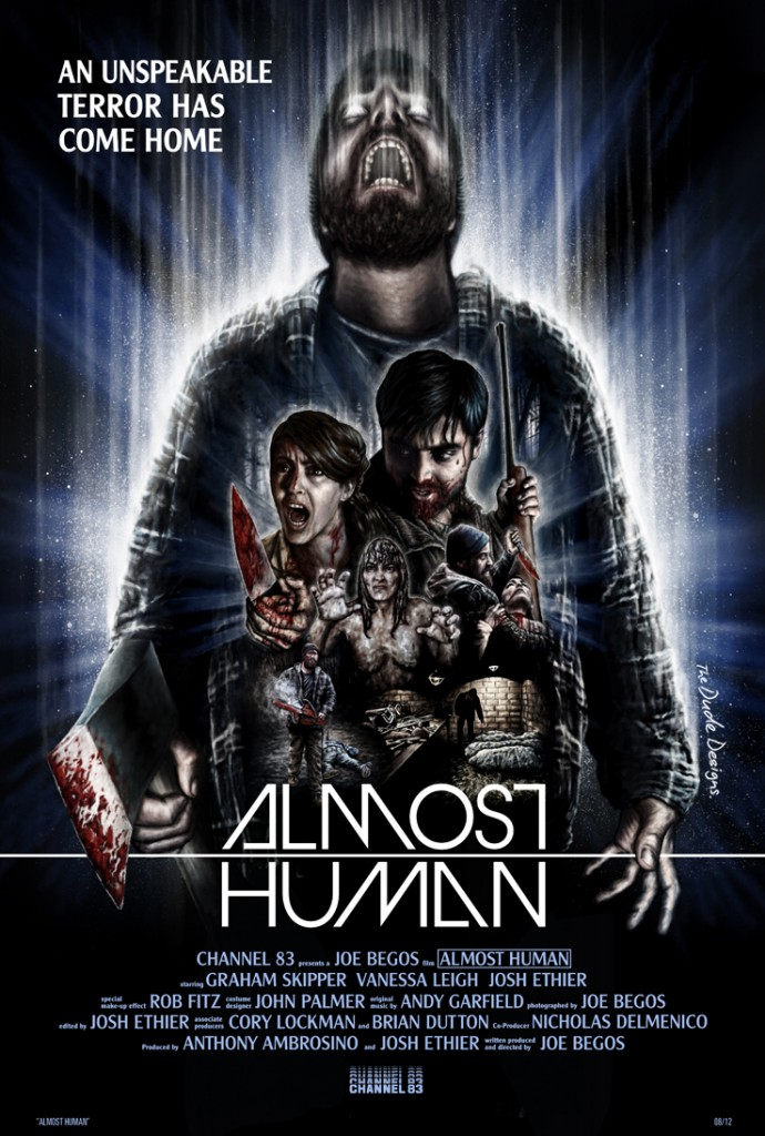 Tom Hodge Almost Human poster