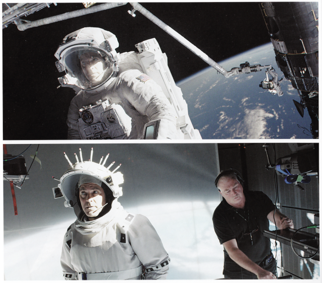 Bedhind the scenes of Gravity special effects