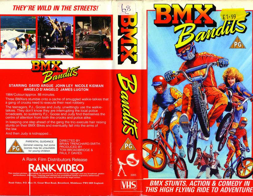 BMX Bandits vhs cover