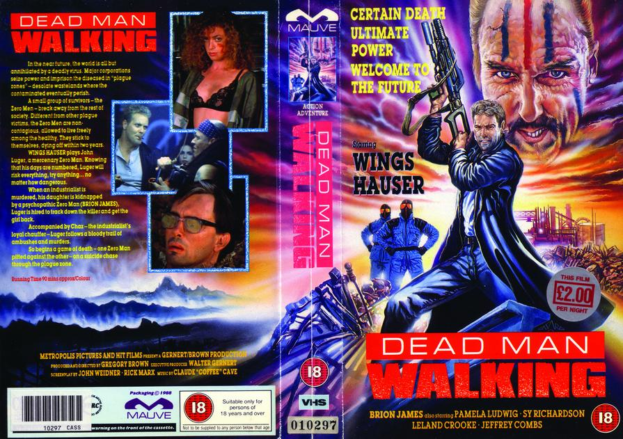 Dead Man Walking vhs cover