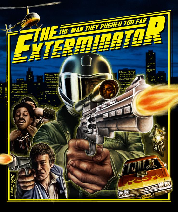 Tom Hodge Exterminator poster