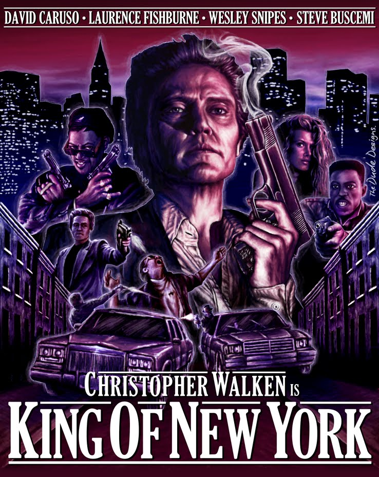 Tom Hodge King of New York poster