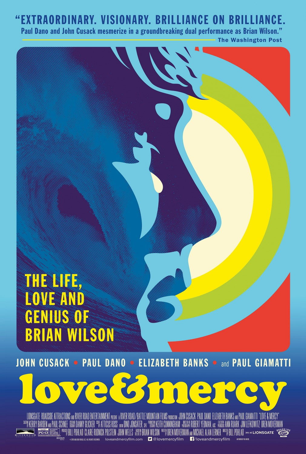 Love & Mercy poster by Kii Arens