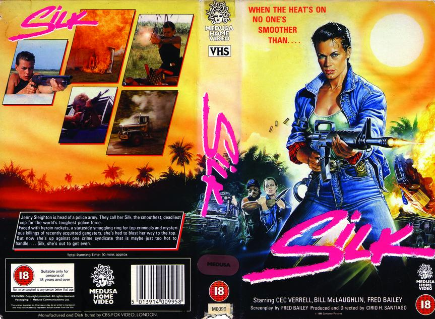 Silk vhs cover