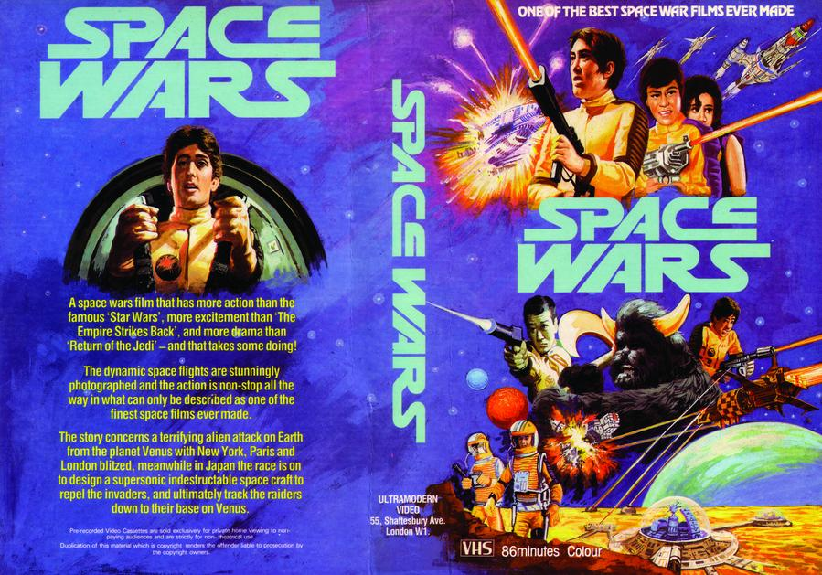 Space Wars vhs cover