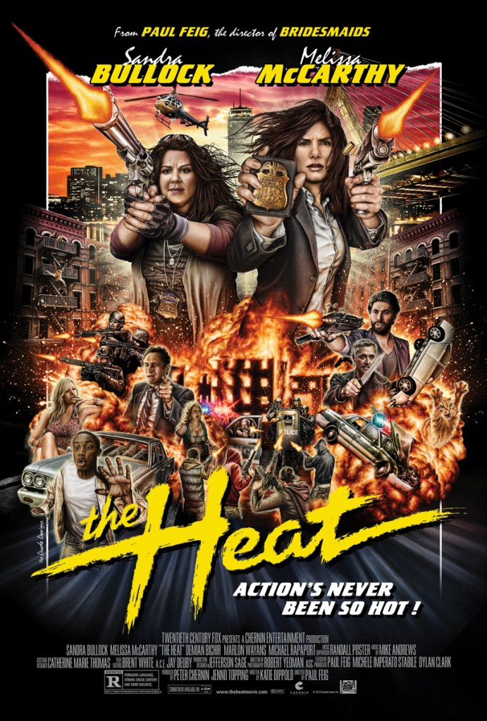 Tom Hodge The Heat poster