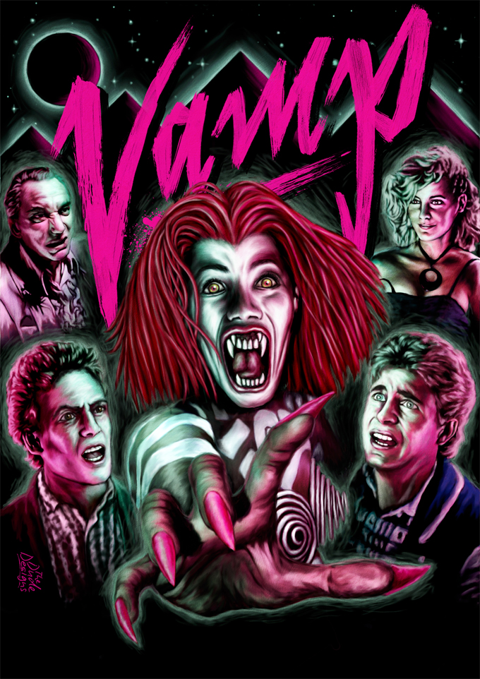 Tom Hodge Vamp poster