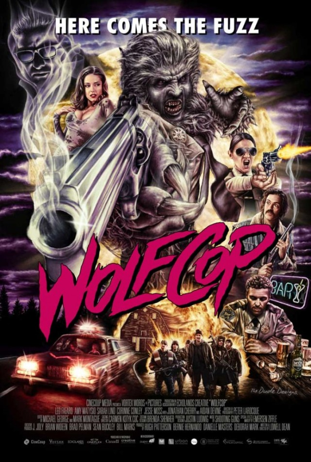 Tom Hodge WolfCop poster