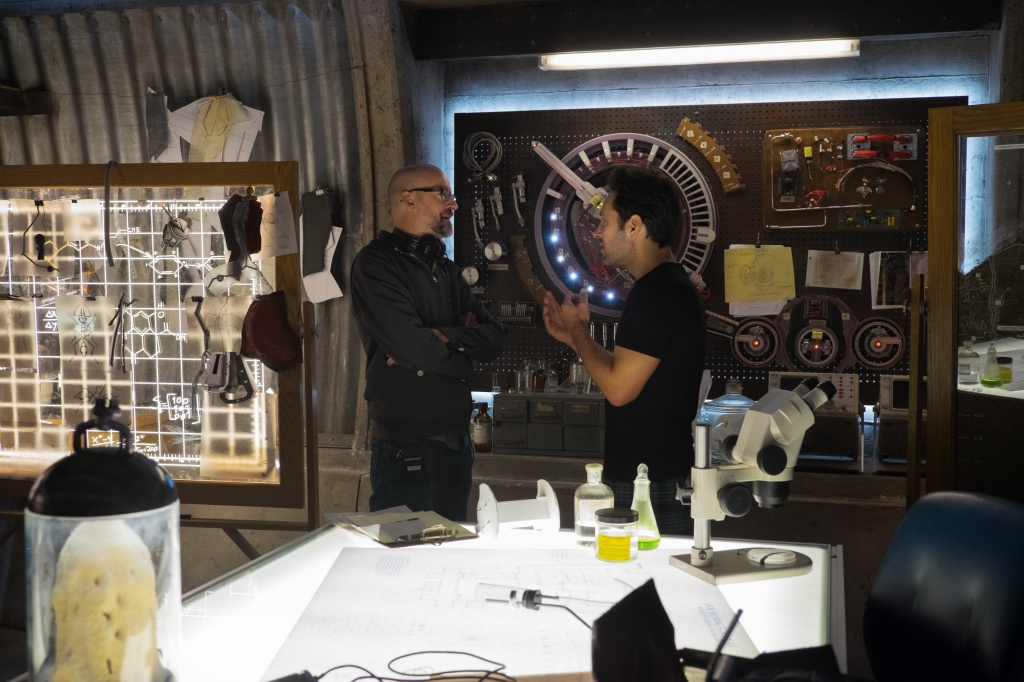 Behind the scenes of Ant-Man
