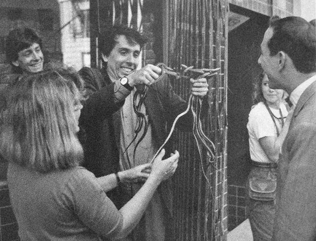 Tim Burton Behind the scenes of Pee-Wee's Big Adventure