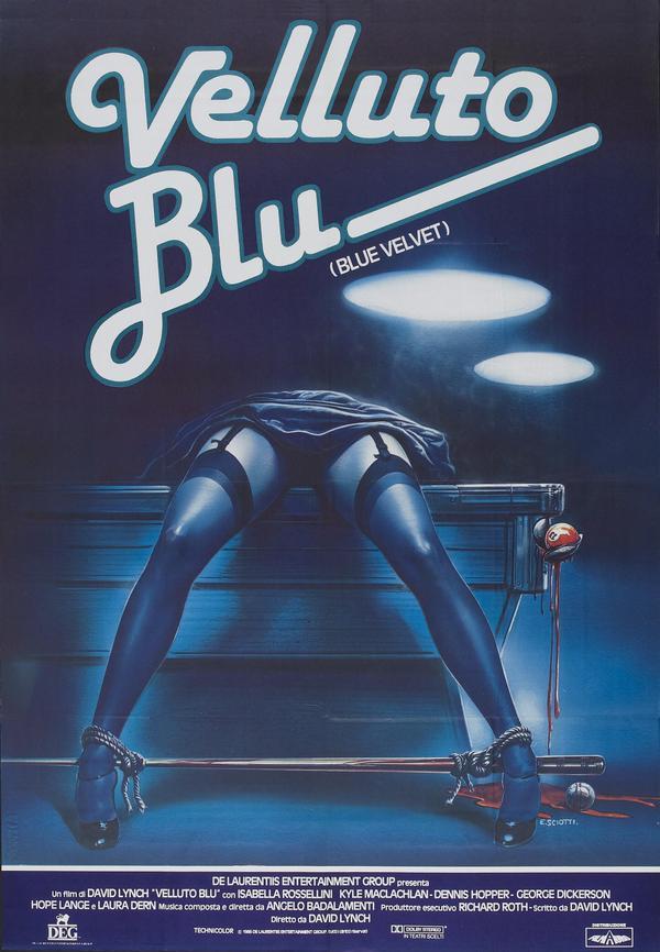 Blue Velvet (1986) italian 41 strange