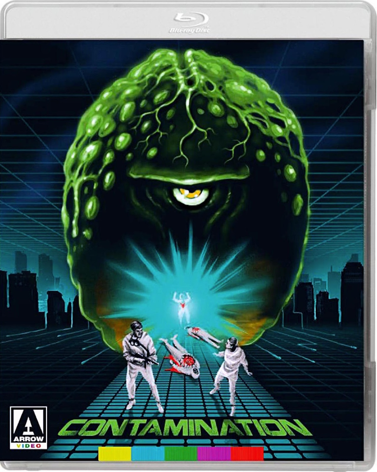Contamination dvd cover