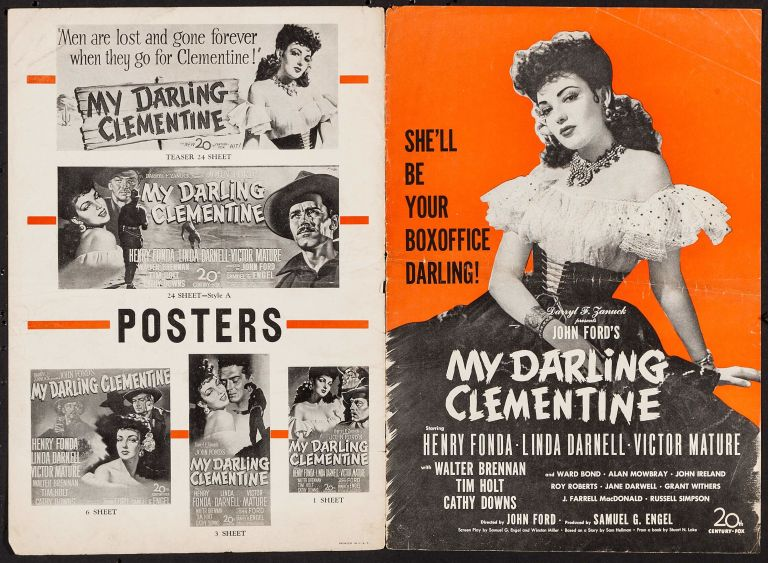 an analysis of protagonists and antagonists in the film my darling clementine by john ford John ford, 1895-1973, american film director, b cape elizabeth, maine, as john martin feeney ford began directing in 1917 after an apprenticeship with his brother francis.