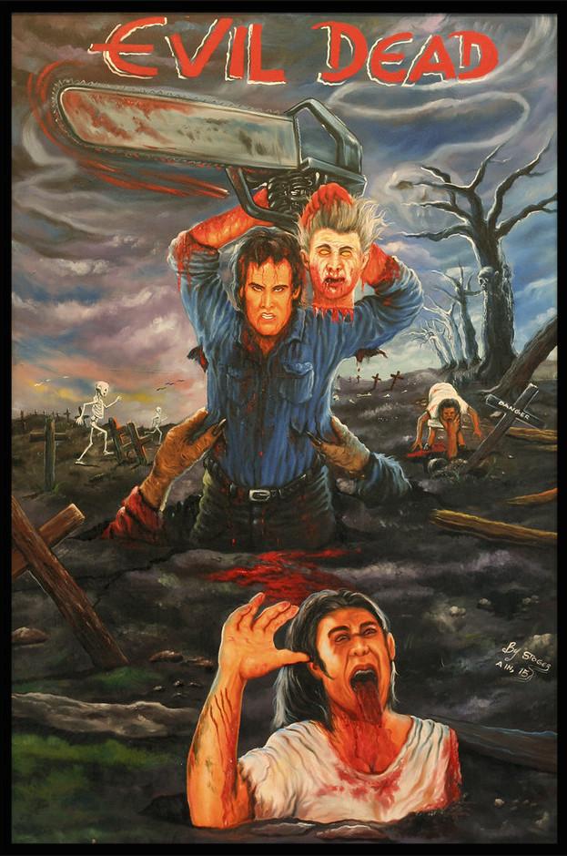 Evil Dead ghana movie poster by stoger