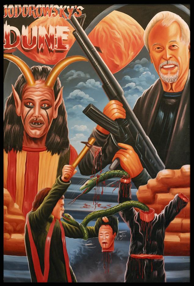 Jodorowsky's Dune ghana movie poster