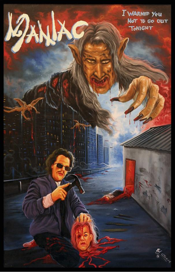 Maniac ghana movie poster by stoger