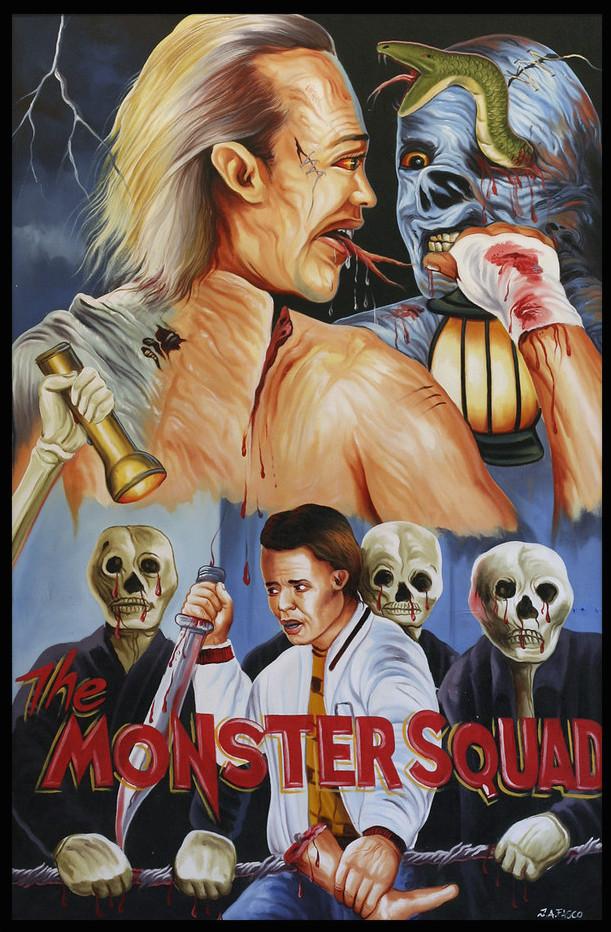 The Monster Squad ghana movie poster by ja fasco