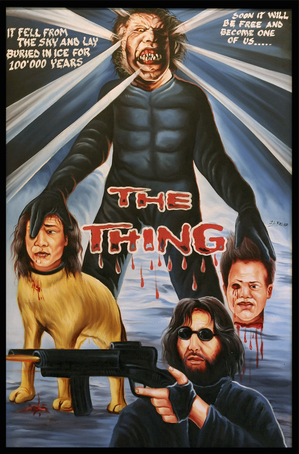 The Thing ghana movie poster by ja fasco