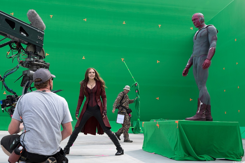Captain America Civil War behind the scenes