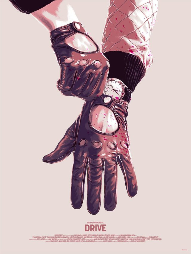 Alternative poster Drive by Matthew Woodson