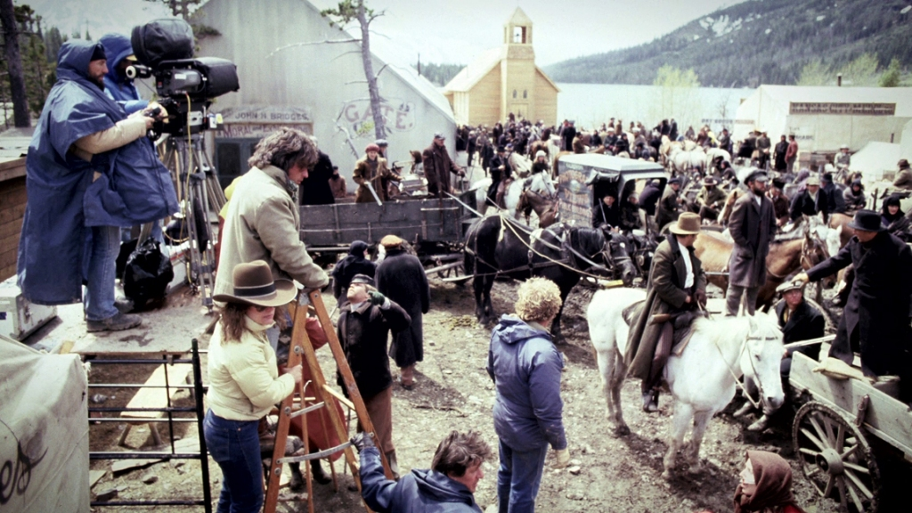 Behind the scenes on the set of Heaven's Gate