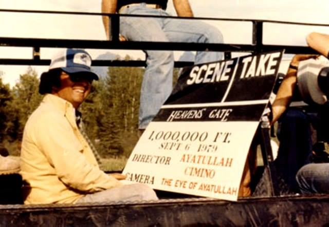 michael cimino behind the scenes of heaven's gate #2