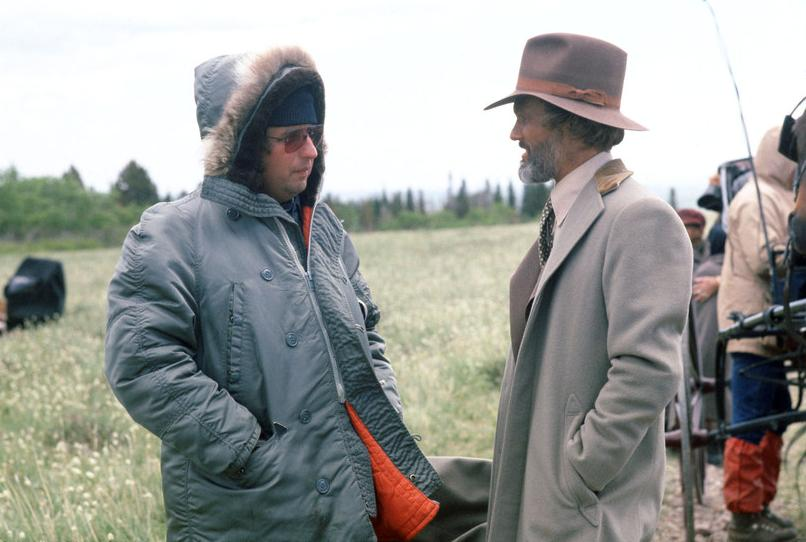 michael cimino kris kristofferson on the set of heaven's gate #2