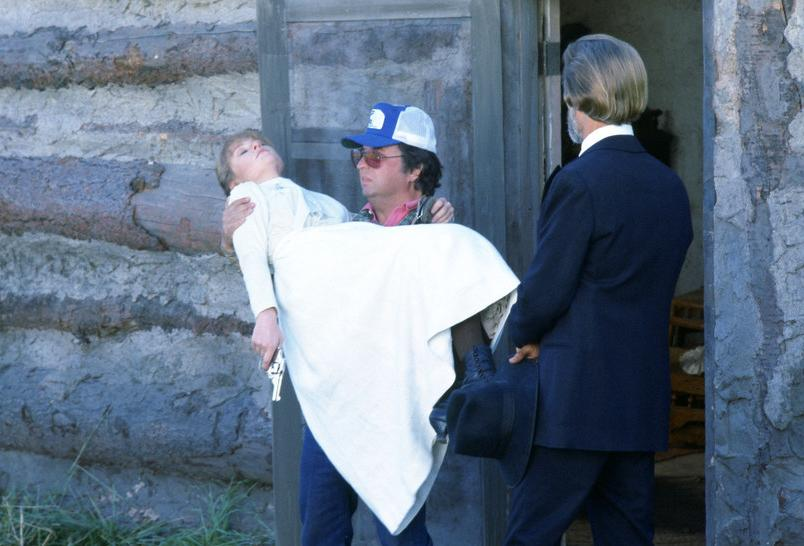 michael cimino kris kristofferson on the set of heaven's gate #3