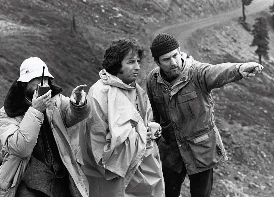 Michael Cimino robert deniro vilmos zsigmond behind the scenes of The Deer Hunter