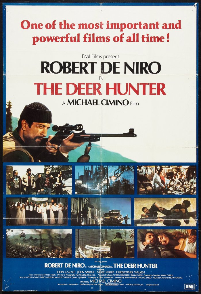 The Deer Hunter british poster