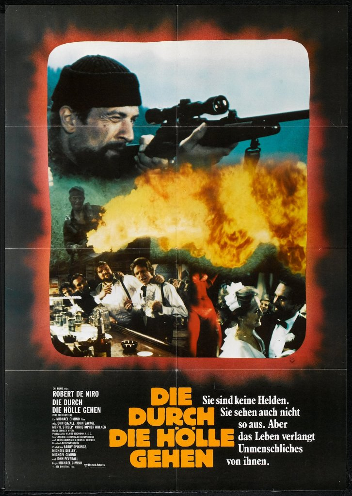 The Deer Hunter german poster