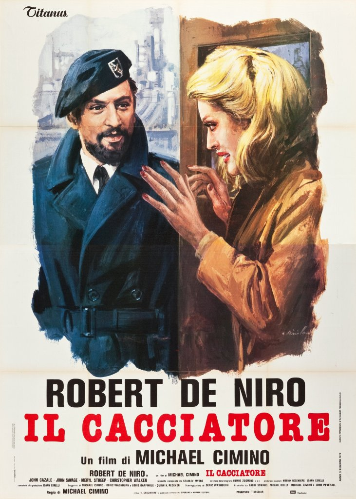 The Deer Hunter italian poster