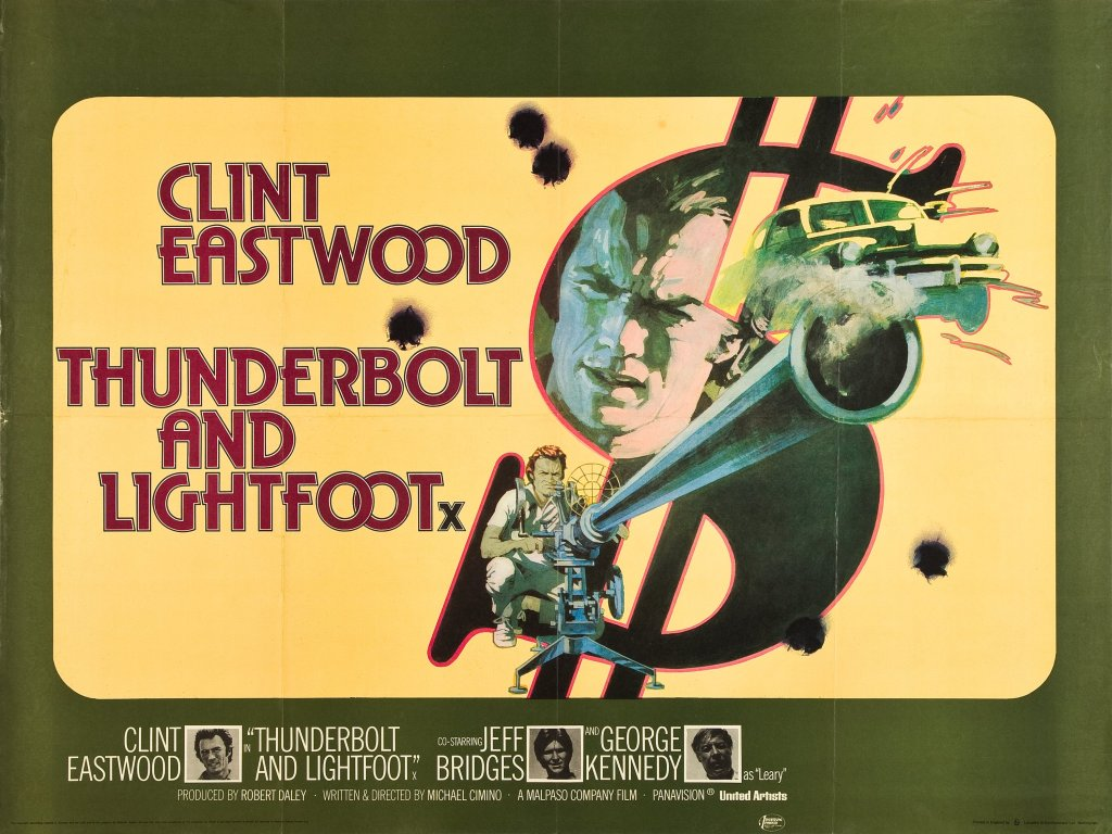 Thunderbolt and Lightfoot british poster